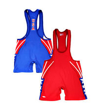 Authentic Matman Low Cut Sydney Lycra Wrestling Singlet Olympic Games 2000 USA