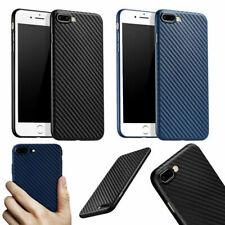 Allergy-proof Carbon Fiber Pattern TPU Case Cover for Apple iPhone 7 Plus/8 Plus