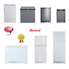SMAD 1.4~9.3 cu ft LPG Refrigerator Freezer 12V 110V Electric Gas Propane Fridge