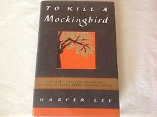 To Kill A Mockingbird 40th Anniv. Ed. Harper Lee, 1999 HC w/DJ. Fine Condition!