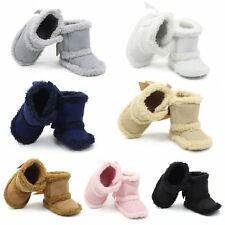 Winter 0-18M Baby Girls Warm Boots Newborn Toddler Infant Soft Sole Shoes Lot