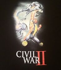 Marvel Civil War 2 Superheroes Mens Graphic T Shirt XL XXL