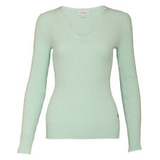 Calvin Klein Skinny Rib Sweater with Soft Cotton Finish - Large or XLarge Only L