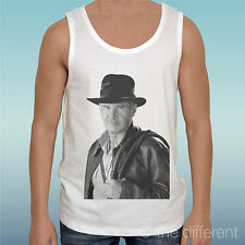 "TANK TOP T-SHIRT "" INDIANA JONES MOVIE HARRISON FORD ""GIFT IDEA"