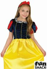 Snow White Fancy Dress Costume Girls White Book Week Costumes