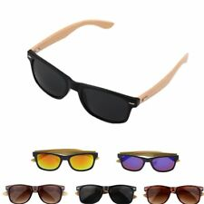 Hot Pro Bamboo Sunglasses Wooden Mens Womens Retro Vintage Summer Glasses DP