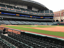2 Tickets Astros Vs Indians FIELD BOX SECTION 127 ROW 7 AISLE SEATS! 5/20/17