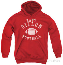 Youth Hoodie: Friday Night Lights - East Dillon Football Pullover Hoodie - Red