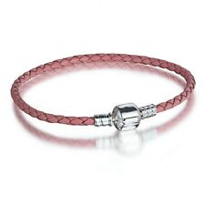 New Fashion Leather Bracelet Chains For European Sterling 925 Silver Charms Bead