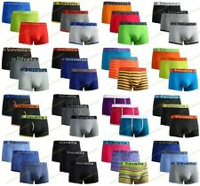 3,6,12 Pieces Pack Mens Cotton Rich Boxer Shorts Gifts Underwear Trunks S,M,L,XL