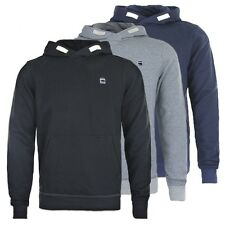 G-STAR RAW CORE HOODED SWEAT - JUMPER HOODIE - BLACK/GREY/BLUE - BNWT