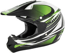 Cyber Youth UX-23 Dyno Green/Black DOT ATV Motocross Offroad Motorcycle Helmet