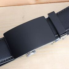 Men's Genuine Leather Automatic Buckle Belts Fashion Waist Strap Belt Waistband
