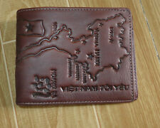 VD0007 Fashion Men's wallet Genuine COW leather