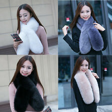 Winter Faux Fox Fur Collar Scarf Shawl Women's Vogue Wrap Stole Scarves New