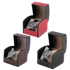Luxury Watch Box Display Case Gift Box For Watch Jewelry Leather Watch Box TOP ~