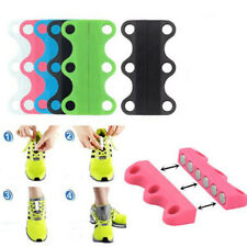 Novelty Magnetic Easy Sneaker Lazy Shoe Lace Buckles Closure Shoelaces Fashion