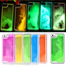 Glow In The Dark Liquid Luminous Moving Hard Case Cover For Apple iPhone 5 5s