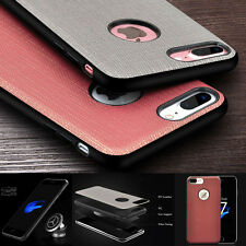 Luxury PU Leather Shockproof Car Stand Holder Case Cover For iPhone 7/7 Plus QA