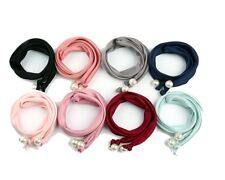 Korean Style Women Head Band Hair Band Pearl Hair Beads Tie Extension Ponytail