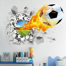 3D Broken Wall Mural Removable Wall Sticker Art Vinyl Decal Room Home Decor DIY