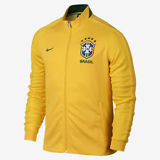 NIKE BRAZIL AUTHENTIC N98 TRACK JACKET 2016 Varsity Maize/Pine Green