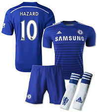 ADIDAS HAZARD CHELSEA FC AUTHENTIC HOME ADIZERO KIT 2014/15 LIMITED EDITION.