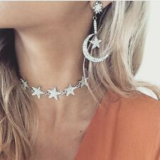 Star Choker - Necklace with Large Rainbow Piece  Statement Jewellery - TOWIE