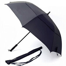 RainStoppers 59-Inch Oversize Canopy Windproof Mens Golf Umbrella Auto Open