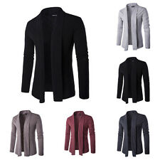 New Men Fashion Formal Long Sleeve Knitted Sweater Autumn/Spring Thin Coat Suits