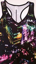 FILA Sport Womens Racerback Running WICKING Work Out TANK TOP Size XS  NWT $25