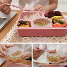 Microwave Bento Lunch Box + Spoon Utensils Picnic Food Container Storage Box DP