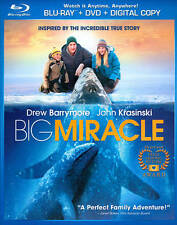 Big Miracle (Blu-ray + DVD Disc, 2012) Drew Barrymore