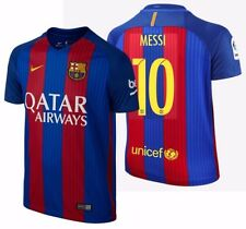 NIKE LIONEL MESSI FC BARCELONA HOME YOUTH JERSEY 2016/17 QATAR.