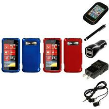 For HTC Trophy T8686 Rigid Plastic Hard Snap-On Case Phone Cover Headphones