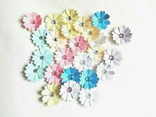 Flower Card Making Embellishments Floral Toppers Scrapbook Paper Craft Supplies