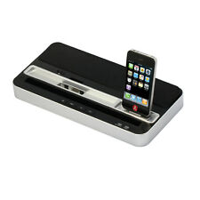 Charger Speaker Dual Dock Station Fr iPhone 5 5S 5C 4S IPAD AIR MINI 5 4 3 Touch