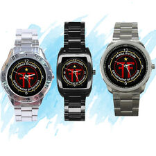 NEW Wrist Watch Stainless Fringe Division Department of Defense
