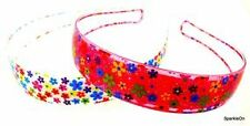 Little Girls Headband Glitter Flower Headband
