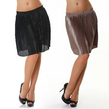 Knee-length Skirt with Pleated Business Office Dance Club Party