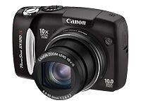 Like New Canon PowerShot SX120 IS 3634B001 10 MP Digital Camera 10x Optical Zoom