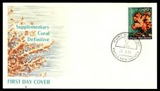 Papua New Guinea supplementary coral definitive first day cover 1985
