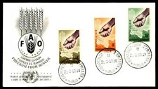 Burundi 1963 Freedom From Hunger Cachet on First Day cover FDC