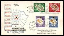 April 16, 1958 African states independence conference Ghana cover