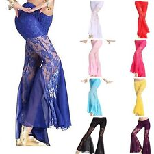Belly Dance Pants Lace Tribal Latin Fishtail Bell Pants Dancing Harem Costume
