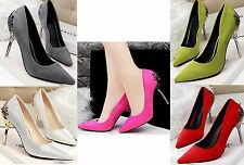 Sexy Women Stiletto Pointed-toe High Heels Party Shoes Pumps Wedding Shoes