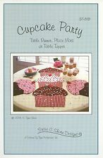 Cupcake Party Table Runner/Topper, Place Mats Pattern by Susie C. Shore (ST819)