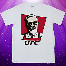 Men's Conor Mcgregor KFC UFC T Shirt Funny Notorious Clothing MMA Fighting Irish