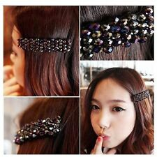 Girls Women Barrette Hairpin Crystal Rhinestone Hair Clip Hair Accessories