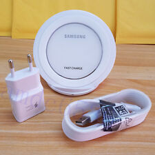 EU Version Genuine Samsung FAST CHARGE Qi Wireless Charging Pad -WHITE -ORIGINAL
